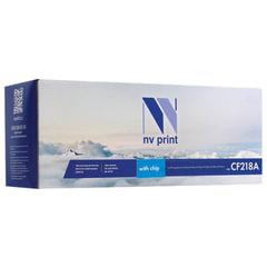 Картридж лазерный NV PRINT (NV-CF218A) для HP LaserJet Pro M132a/<wbr/>132fn/<wbr/>M104a/<wbr/>104w, ресурс 1400 стр.