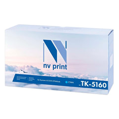 Тонер-картридж KYOCERA (TK-5160C) ECOSYS P7040cdn, голубой, ресурс 12000 стр., NV PRINT совместимый
