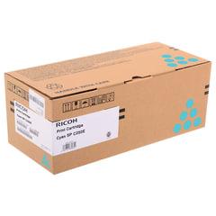 Тонер-картридж лазерный RICOH (SP C250E) SPC250/<wbr/>C260/<wbr/>C261/<wbr/>C260/<wbr/>C261, голубой, оригинальный, ресурс 1600 стр.