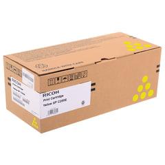 Тонер-картридж лазерный RICOH (SP C250E) SPC250/<wbr/>C260/<wbr/>C261/<wbr/>C260/<wbr/>C261, желтый, оригинальный, ресурс 1600 стр.