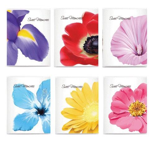 Фотоальбом BRAUBERG (БРАУБЕРГ) на 36 фото 10×15 см, мягкая обложка, цветы, ассорти