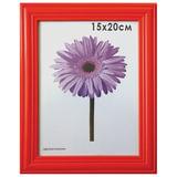 Рамка премиум 15×20 см, «Linda», дерево, красная (для фотографий)