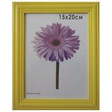 Рамка премиум 15×20 см, «Linda», дерево, желтая (для фотографий)