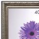 Рамка премиум 40×50 см, «Dorothy», пластик, серебро (для студийных и оформительских работ)