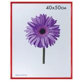 Рамка премиум 40×50 см, «Maria», пластик, красная (для студийных и оформительских работ)