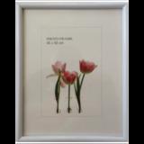 Рамка премиум 40×50 см, «Maria», пластик, белая (для студийных и оформительских работ)