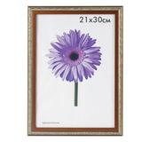 Рамка премиум 21×30 см, «Rosa», пластик, бронза (для дипломов, сертификатов, грамот, фотографий)