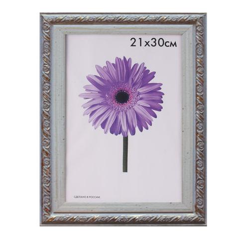 Рамка премиум 21×30 см, «Rosa», пластик, кремовая (для дипломов, сертификатов, грамот, фотографий)