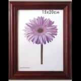 Рамка премиум 15×20 см, «Linda», дерево, махагон (для фотографий)