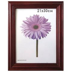 Рамка премиум 21×30 см, «Linda», дерево, махагон (для дипломов, сертификатов, грамот, фотографий)