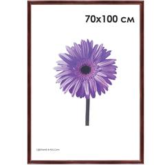 Рамка премиум 70×100 см, «Linda», дерево, махагон (для студийных и оформительских работ)