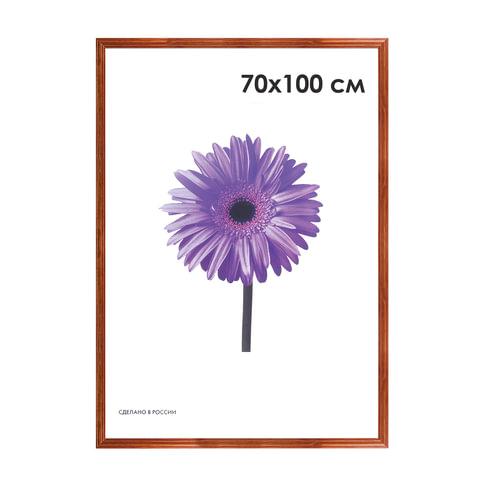 Рамка премиум 70×100 см, «Linda», дерево, орех (для студийных и оформительских работ)