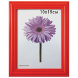 Рамка премиум 10×15 см, «Linda», дерево, красная (для фотографий)