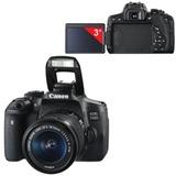 """Фотоаппарат зеркальный CANON EOS 750D, 18-55 мм, IS STM, 24,2 Мп, 3"""" ЖК-сенсорный поворотный монитор, Wi-Fi, NFC"""