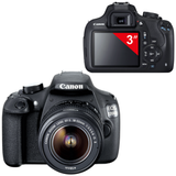 """Фотоаппарат зеркальный CANON EOS 1200D, 18-55 мм III, 18 Мп, 3"""" ЖК-монитор, Full HD, черный"""