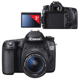 "����������� ���������� CANON EOS 70D, 18-55 ��, IS STM, 20,2 ��, 3"" ��-������� ����������, Full HD, Wi-Fi"