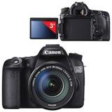 "Фотоаппарат зеркальный CANON EOS 70D, 18-135 мм, IS STM, 20,2 Мп, 3"" ЖК-монитор поворотный, Full HD, Wi-Fi"