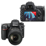 "����������� ���������� NIKON D750, 24-120 ��, VR, 24,3 ��, 3"" ��-������� ����������, Full HD, Wi-Fi"