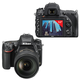 "Фотоаппарат зеркальный NIKON D750, 24-120 мм, VR, 24,3 Мп, 3"" ЖК-монитор поворотный, Full HD, Wi-Fi"