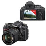 """Фотоаппарат зеркальный NIKON D7100, 18-140 мм, VR, 24,1 Мп, 3,2 """"ЖК-монитор, Full HD, черный"""