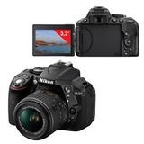 """Фотоаппарат зеркальный NIKON D5300, 18-55 мм, VR II, 24 Мп, AF-P, 3"""" ЖК-монитор поворотный, Full HD, Wi-Fi"""