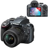 """Фотоаппарат зеркальный NIKON D3300, 18-55 мм, 24,2 Мп, 3"""" ЖК-монитор, Full HD, черный"""