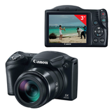 "����������� ���������� CANON PowerShot SX410 IS, 20 ��, 40� zoom, 3"" ��-�������, ������"