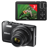 "����������� ���������� NIKON CoolPix S7000, 16 ��, 20x zoom, 3"" ��-�������, Full HD, Wi-Fi, ������"