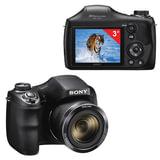 """Фотоаппарат компактный SONY Cyber-shot DSC-H300, 20,1 Мп, 35x zoom, 3"""" ЖК-монитор, черный"""