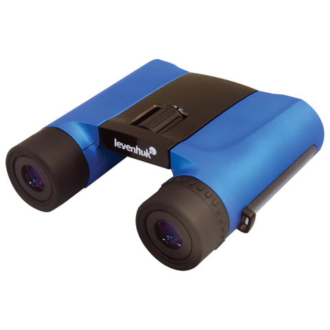 Бинокль LEVENHUK «Rainbow 8×25 Blue Wave», компактный, 8-кратное увеличение, объектив 25 мм, чехол, ремешок, синий