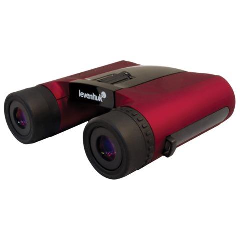 Бинокль LEVENHUK «Rainbow 8×25», увеличение х8, объектив 25 мм, красный