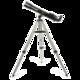 Телескоп LEVENHUK Skyline 70×700 AZ, рефрактор, 2 окуляра, ручное управление, для начинающих
