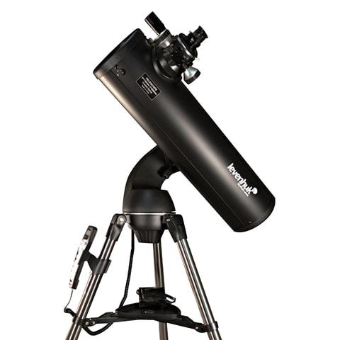 Телескоп LEVENHUK SkyMatic 135 GTA, рефлектор, 2 окуляра, автонаведение, для начинающих