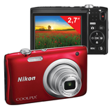 "����������� ���������� NIKON CoolPix �100, 20,1 ��, 5x zoom, 2,7"" ��-�������, HD, �������"