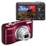 "����������� ���������� NIKON CoolPix �10, 16,1 ��, 5� zoom, 2,7"" ��-�������, HD, �������"