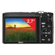 """Фотоаппарат компактный NIKON CoolPix А100, 20,1 Мп, 5x zoom, 2,7"""" ЖК-монитор, HD, черный"""
