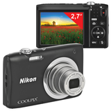 "����������� ���������� NIKON CoolPix �100, 20,1 ��, 5x zoom, 2,7"" ��-�������, HD, ������"