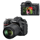"����������� ���������� NIKON D7200 18-105 �� VR, 24,7 ��, 3,2"" ��-�������, Full HD, Wi-Fi, ������"