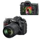 """����������� ���������� NIKON D7200 18-105 �� VR, 24,7 ��, 3,2"""" ��-�������, Full HD, Wi-Fi, ������"""