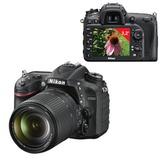"""Фотоаппарат зеркальный NIKON D7200 18-140 мм VR, 24,7 Мп, 3,2"""" ЖК-монитор, Full HD, Wi-Fi, черный"""