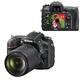 """����������� ���������� NIKON D7200 18-140 �� VR, 24,7 ��, 3,2"""" ��-�������, Full HD, Wi-Fi, ������"""