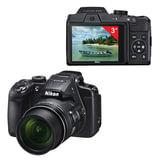 "Фотоаппарат компактный NIKON CoolPix B500, 16 Мп, 40x zoom, 3"" ЖК-монитор, Full HD, Wi-Fi, NFC, черный"