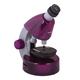 Микроскоп детский LEVENHUK LabZZ M101 Amethyst, 40-640 кратный, монокулярный, 3 объектива