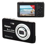 """Фотоаппарат компактный REKAM iLook S955i, 21 Мп, 4x zoom, 2,7"""" ЖК-монитор, HD, черный"""