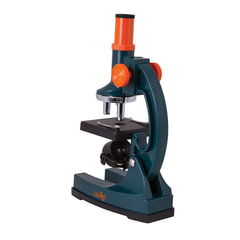 Микроскоп детский LEVENHUK LabZZ M1, 100-300 кратный, монокулярный, 3 объектива