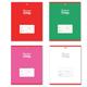 Тетрадь 18 л., HATBER, клетка, обложка мелованный картон, «Цветная тетрадь»