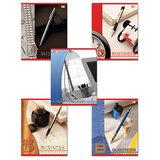 Тетрадь 96 л., HATBER VK, клетка, обложка мелованный картон, «Бизнес», 96Т5С1