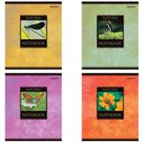 Тетрадь 48 л. BRAUBERG (БРАУБЕРГ), клетка, обложка мелованный картон, «Природа», 4 вида