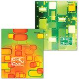 Тетрадь 96 л. BRAUBERG ЭКО, клетка, обложка мелованный картон, «Для единственной», 2 вида