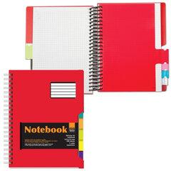 Тетрадь-блокнот, 200 л., «Альт», гребень, клетка, пластиковая обложка, 5 разд., «ULTIMATE BASICS»